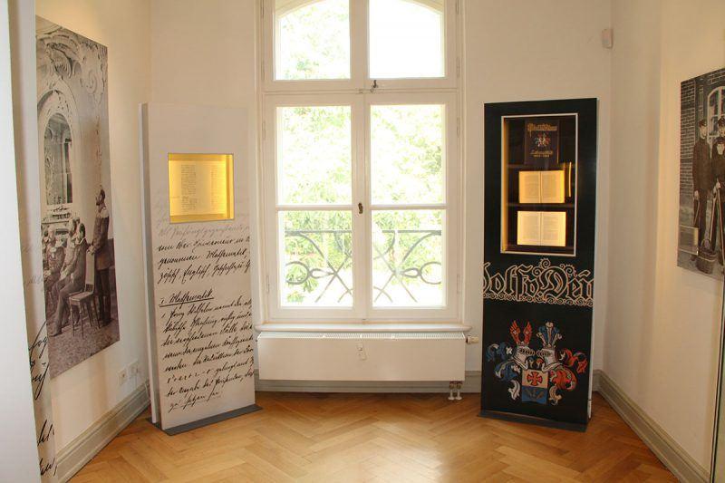in der Ausstellung des Prinzenhaus zu Plön